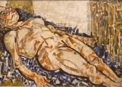 Fausto Pirandello | Nudo Disteso