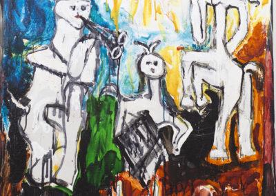 Mario Schifano | Omaggio a Picasso