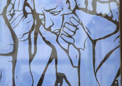 Felice Casorati | Ragazza Triste in Azzurro