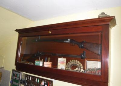 Antique Italian shotgun (1890s) & another 1950s shotgun